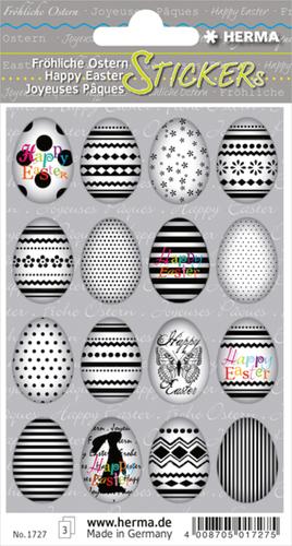 Herma 1727 Sticker Vrolijk Pasen - Eieren
