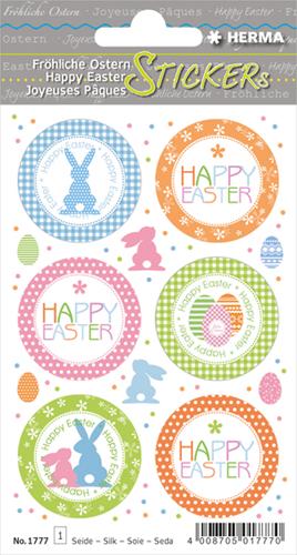 Herma 1777 Sticker Vrolijk Pasen - Paas Groet