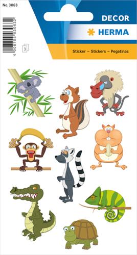 Herma 3063 Sticker Dierentuin Dieren