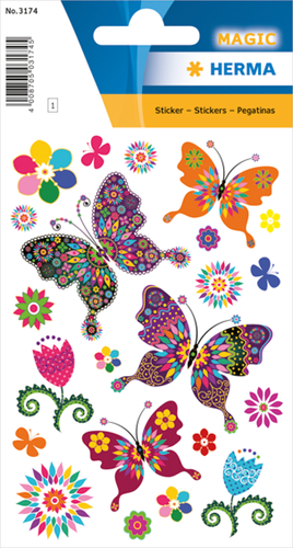 Herma 3174 Sticker Vlinders - Glitter