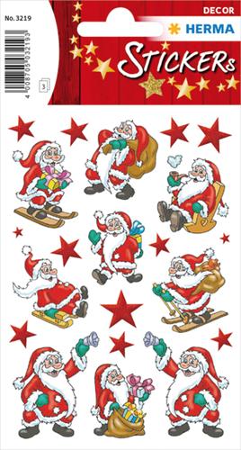 Herma 3219 Sticker Kerstman I