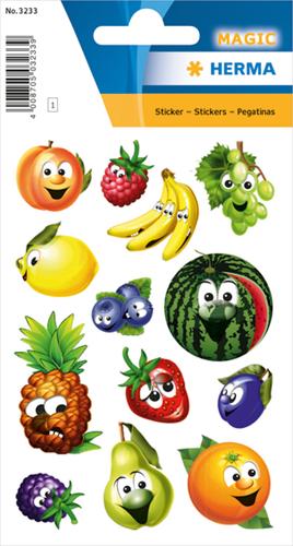 Herma 3233 Sticker Vruchten Met Wiebelogen