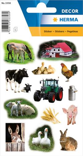 Herma 3358 Sticker Boerderijdieren