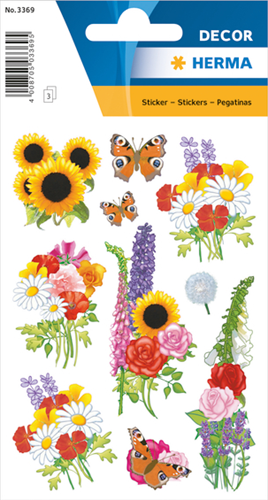 Herma 3369 Sticker Bloemen