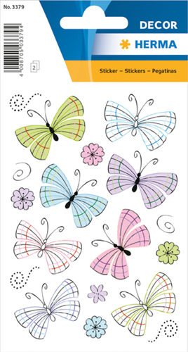 Herma 3379 Sticker Moderne Vlinders