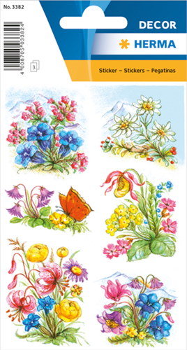 Herma 3382 Sticker Bergbloemen I