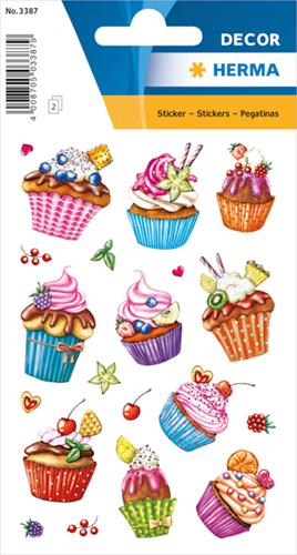 Herma 3387 Sticker Cupcakes II