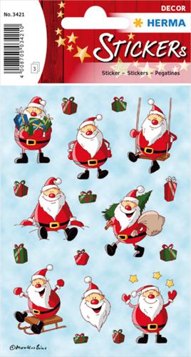 Herma 3421 Sticker Kerstman II