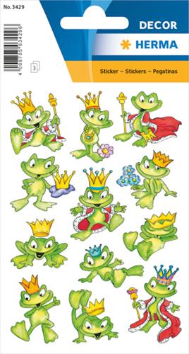 Herma 3429 Sticker Kikkerkoning II