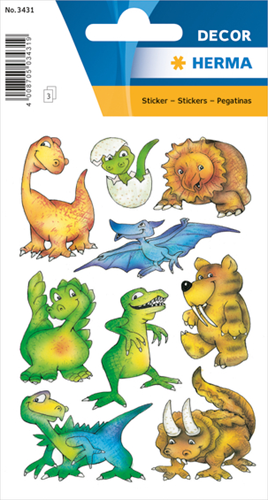 Herma 3431 Sticker Dino's