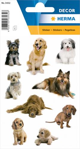 Herma 3432 Sticker Honden II