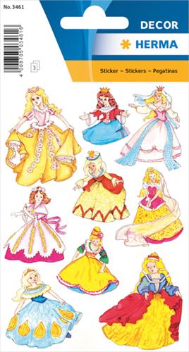 Herma 3461 Sticker Prinsessen II