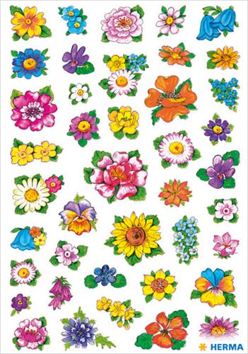 Herma 3522 Sticker Bloemen II