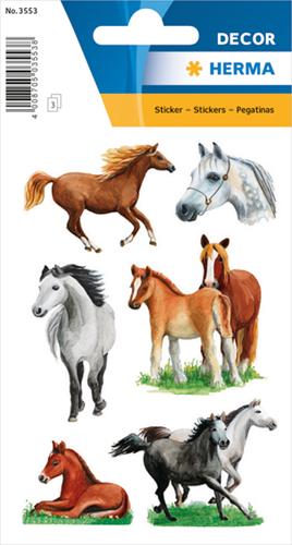 Herma 3553 Sticker Paarden II