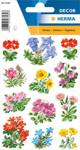 Herma 3582 Sticker Bergbloemen II