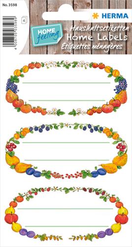Herma 3598 Sticker Vruchtekrans