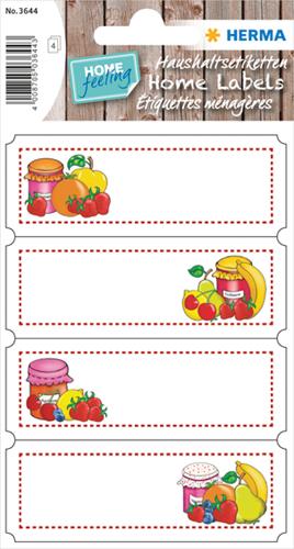 Herma 3644 Sticker Keuken Vruchten