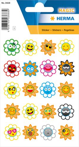 Herma 3668 Sticker Zonnetjes