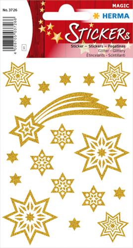 Herma 3726 Sticker Vallende Ster - Glitter