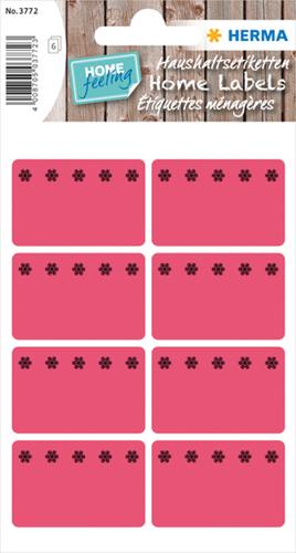 Herma 3772 Sticker Diepvries 26 x 40 mm - Rood