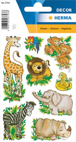 Herma 3793 Sticker Wilde Dieren