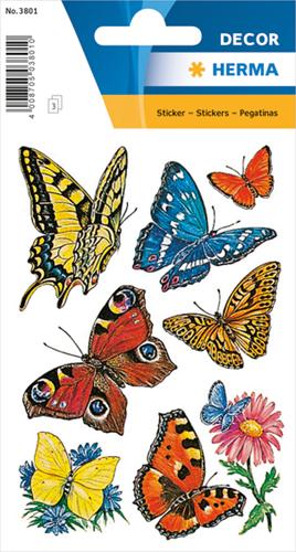 Herma 3801 Sticker Vlinders IIII