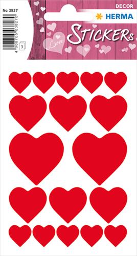 Herma 3827 Sticker Grote Harten