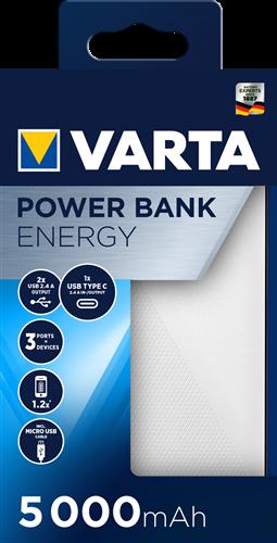 Batterij Varta Power Bank Energy 5000mAh