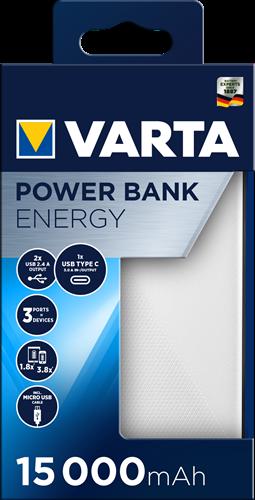 Batterij Varta Power Bank Energy 15000mAh