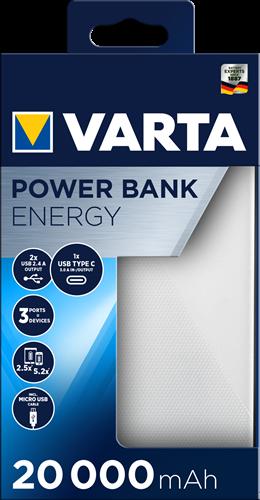 Batterij Varta Power Bank Energy 20000mAh