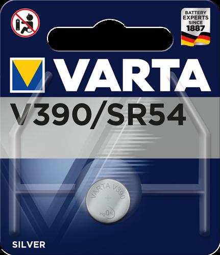 Batterij Varta knoopcel V390 silver blister a 1stuk