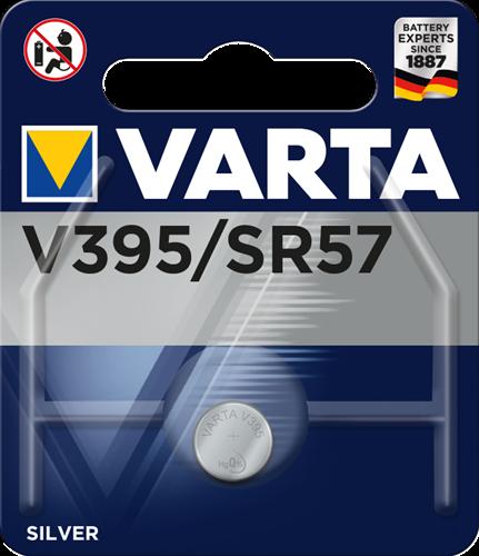 Batterij Varta knoopcel V395 silver blister a 1stuk