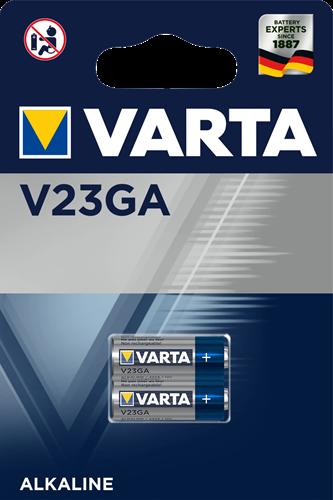 Batterij Varta knoopcel V23GA alkaline blister a 2stuk
