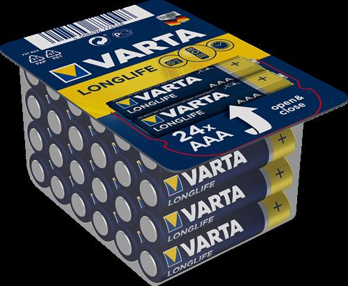 Batterij Varta Longlife Big Box 24xAAA