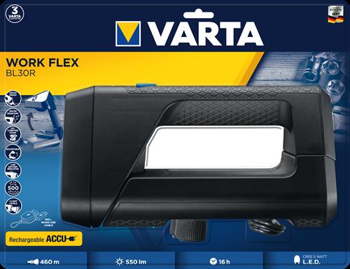 Zaklamp Varta work flex BL30R