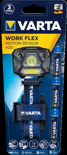 Zaklamp Varta work flex motion sensor H20