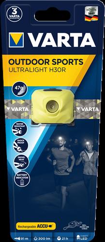 Zaklamp Varta outdoor sports ultralight H30R lime