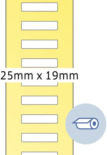 Herma 4047 Rol Etiketten 25 x 19 mm