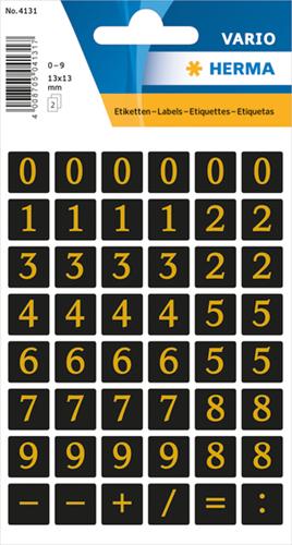 Herma 4131 Sticker Getallen 0 - 9