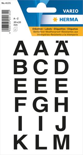 Herma 4135 Sticker Letters A - Z