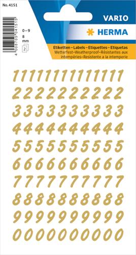 Herma 4151 Sticker Getallen 0 - 9