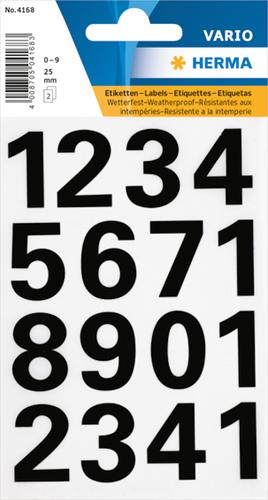 Herma 4168 Sticker Getallen 0 - 9