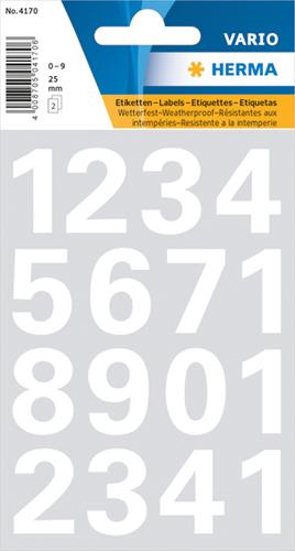 Herma 4170 Sticker Getallen 0 - 9