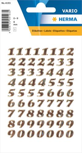 Herma 4193 Sticker Getallen 0 - 9