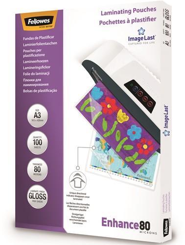 Lamineerhoezen Fellowes® ImageLast™ A3 80 micron