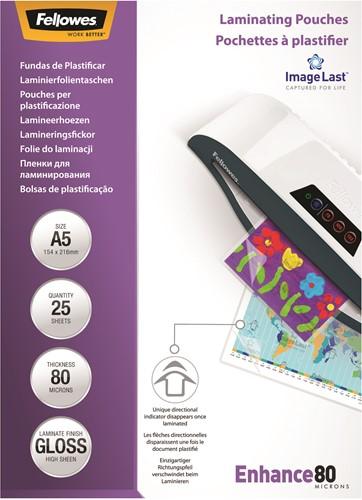 Lamineerhoezen Fellowes® ImageLast™ A5 80 micron