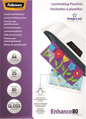 Lamineerhoezen Fellowes® ImageLast™ A4 80 micron