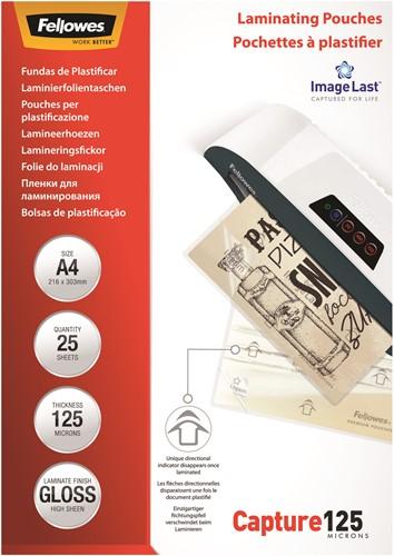 Lamineerhoezen Fellowes® ImageLast™ A4 125 micron