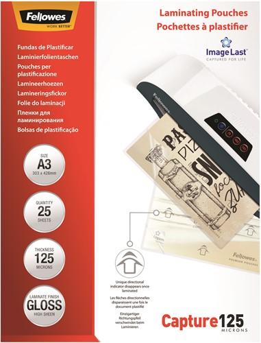 Lamineerhoezen Fellowes® ImageLast™ A3 125 micron